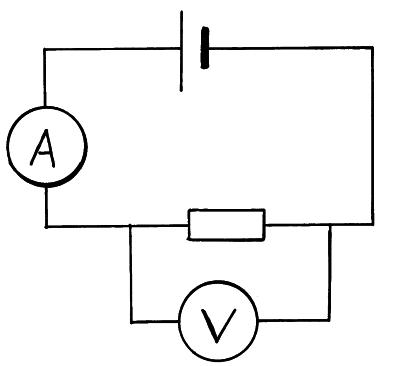 Current Voltage And The French Resistance on ammeter wiring diagram